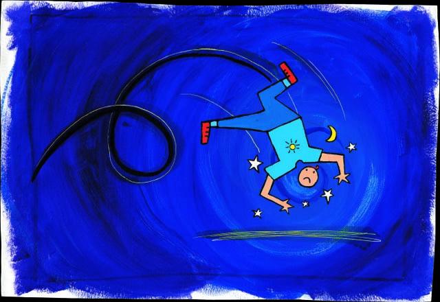 Ateliers Aïe Ouille à Barenton avec la Scène natioanale 61 de  l'Orne // On commente un dessin de Hervé Tullet et on écrit une chanson